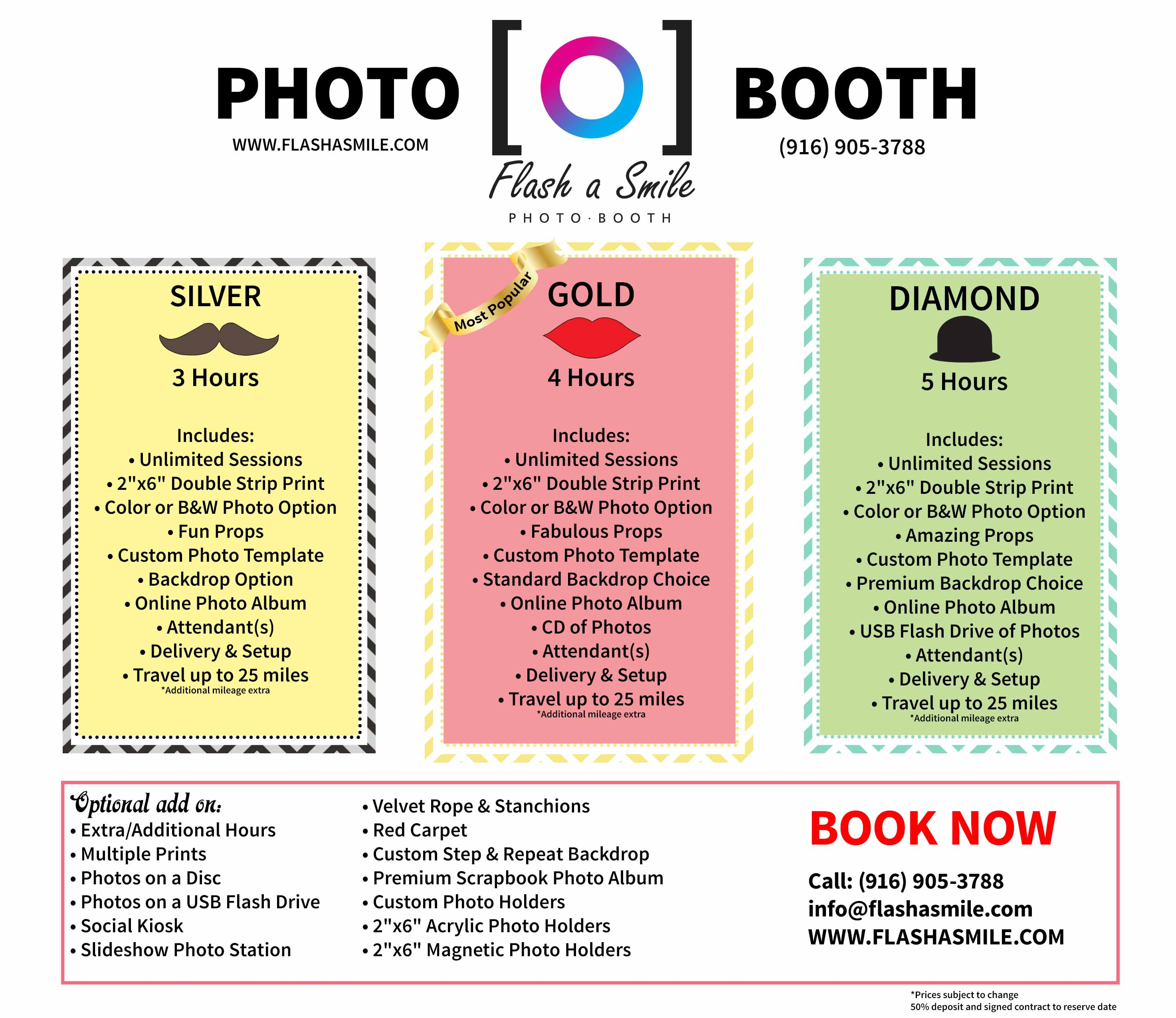 Flash A Smile Photo Booth Rental Sacramento Ca Packages